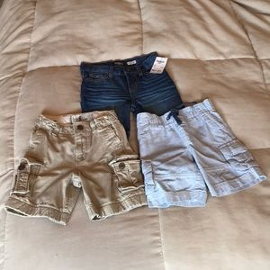SOLD*SOLD*SOLD* 3 pairs of shorts in size 2t